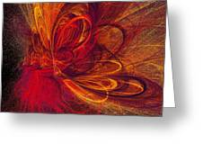Butterfire Greeting Card