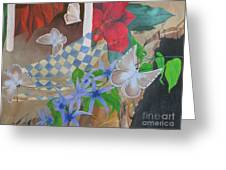 Butterflies In The Breeze Greeting Card