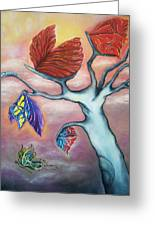 Butterflies In The Midst  Greeting Card