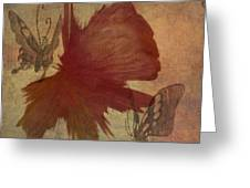 Butterflower Greeting Card