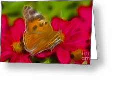 Butterfly-5416-fractal Greeting Card