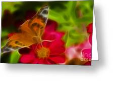 Butterfly-5430-fractal Greeting Card