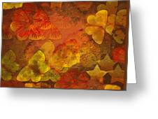 Butterfly Abstract 2 Greeting Card