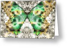Butterfly Abstraction 6 Greeting Card