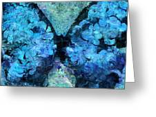 Butterfly Art - D11bl02t1c Greeting Card