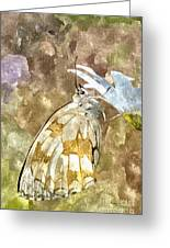 Butterfly Art Print 3 Greeting Card