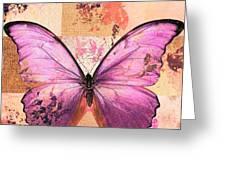 Butterfly Art - Sr51a Greeting Card