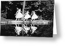 Butterfly Dance, 1920 Greeting Card