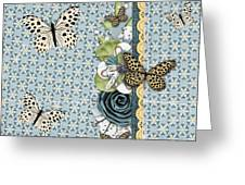 Butterfly Dreamland Greeting Card