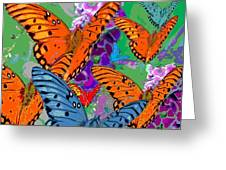 Butterfly Joy Greeting Card