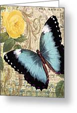 Butterfly Kisses-a Greeting Card