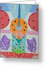 Butterfly Kisses And Ladybug Hugs Greeting Card