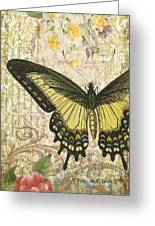Butterfly Kisses-c Greeting Card