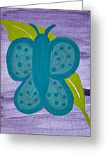 Butterfly Greeting Card by Melissa Dawn