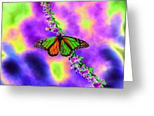 Butterfly - Monarch - Photopower 1551 Greeting Card