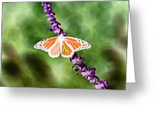 Butterfly - Monarch - Photopower 319 Greeting Card