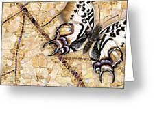 Butterfly Mosaic 01 Elena Yakubovich Greeting Card