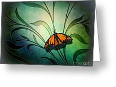 Butterfly Pause V1 Greeting Card