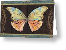 Butterfly Tapsetry-jp2197 Greeting Card