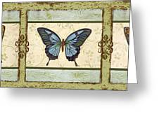 Butterfly Trio-3 Greeting Card