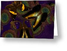 Butterfly Worlds Greeting Card