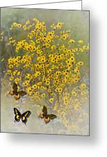 Butterfly's Paradise Greeting Card