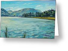 Buttermere Haystacks And Beyond Greeting Card