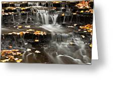Buttermilk Falls Greeting Card by Shannon Workman