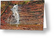 Buttermilk Waterfall Greeting Card