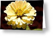 Buttermilk Yellow Greeting Card