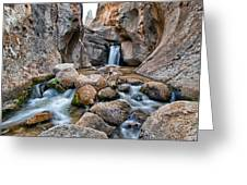 Buttermilks Waterfall Greeting Card