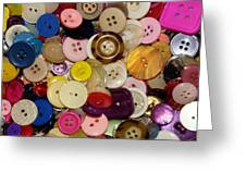 Buttons 667 Greeting Card