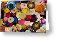 Buttons 670 Greeting Card