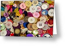 Buttons 671 Greeting Card