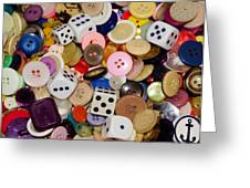 Buttons 674 Greeting Card