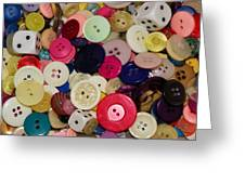 Buttons 680 Greeting Card