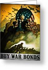 Buy War Bonds Greeting Card