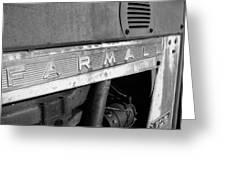 Bw Farmall Greeting Card
