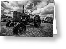 Bwcday4 Tractors Greeting Card