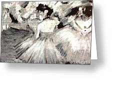 By Degas Greeting Card