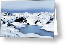 By The Blue Lagoon In Iceland Greeting Card