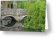 By The Old Mill Stream Greeting Card