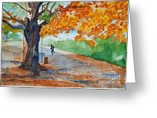 By The Rideau Canal Greeting Card
