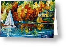 By The Rivershore Greeting Card