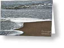 By The Seashore Greeting Card