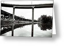By Train Boat Or Automobile Greeting Card