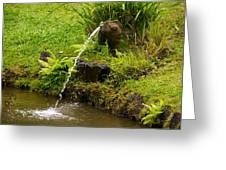 Byodo In Temple Greeting Card