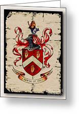 Byrne Coat Of Arms Greeting Card