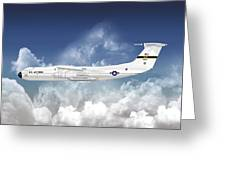 C-141a Starlifter Greeting Card