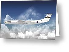 C-141b Starlifter Greeting Card